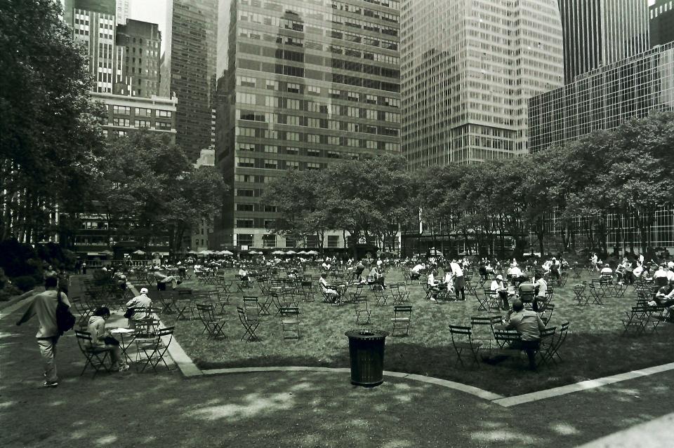 Bryant park Manhattan New-York