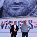 Norbert Métairie et Frank Cammas